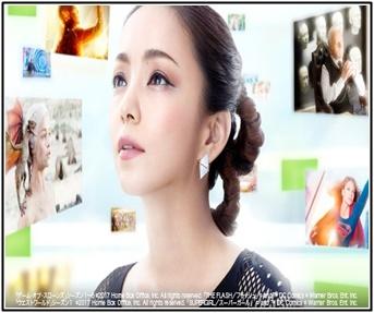 安室奈美恵、ドキュメンタリー、Hulu、CM